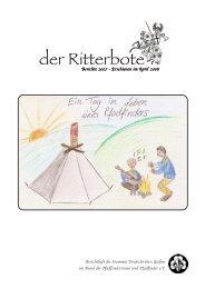 der Ritterbote - Stamm Deutschritter