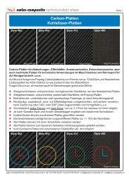 swiss-composite technical data sheet Carbon-Platten Kohlefaser ...