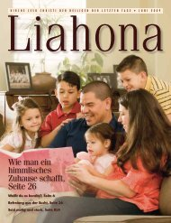 Juni 2009 Liahona - Kirche Jesu Christi der Heiligen der Letzten Tage