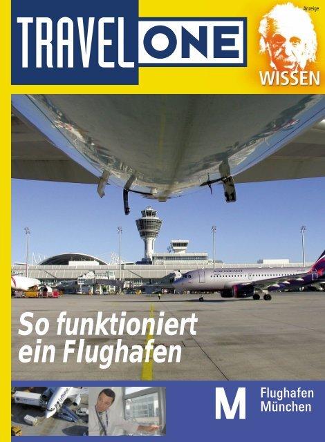 So funktioniert ein Flughafen - Flughafen München