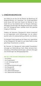 Broschüre Ernährungsmedizin - gemeinschaftspraxis koenig 33 - Seite 2