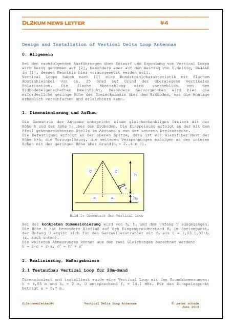 Design and Installation of Vertical Delta Loop Antennas     - DL0HGW