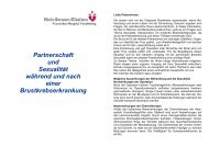 Partnerschaft - Niels-Stensen-Kliniken
