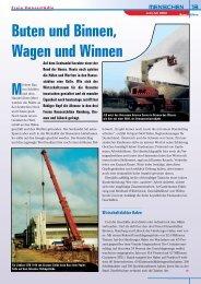 Kran & Bühne, Juni/Juli 2002: Buten und Binnen ... - Vertikal.net