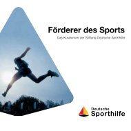 Info-Broschüre - Stiftung Deutsche Sporthilfe