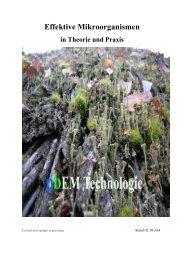 Effektive Mikroorganismen - Peter Butzko