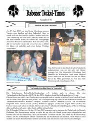 Ausgabe 4/03 - Teckelgruppe Raben