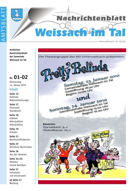 Single-Party Weissach im Tal - chad-manufacturing.com
