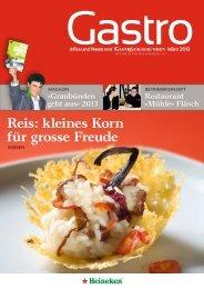 Gastro 1 2013 - GastroGraubünden