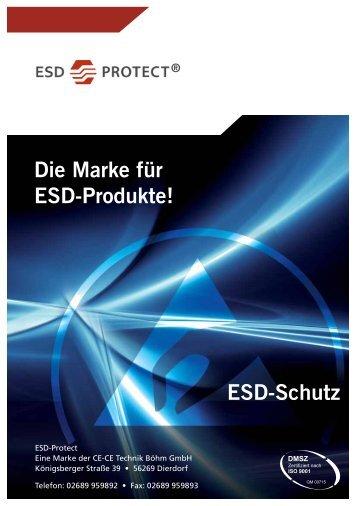 ESD-Schutz Die Marke für ESD-Produkte!
