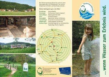 """Flyer """"Wasserpfad"""" (PDF 1,1 MB) - Das Tal der Lauchert"""