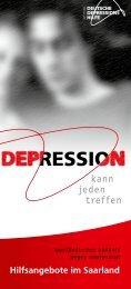 kann jeden treffen - Saarländisches Bündnis gegen Depression
