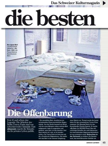 Die Offenbarung - Galerie Rätus Casty Davos