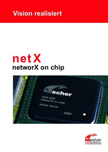 networX on chip - Swiss Industrial Networks Day