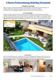 Hausprospekt FeWo Darmstadt - 5 Sterne Ferienwohnung ...