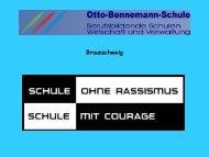 Präsentation zum Thema - Otto-Bennemann-Schule Braunschweig