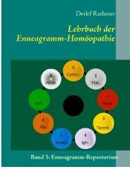 Leseprobe Lehrbuch der Enneagramm-Homöopathie : Band 3