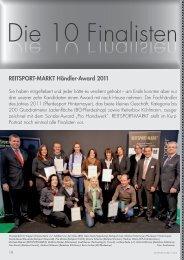 REITSPORT-MARKT Händler-Award 2011