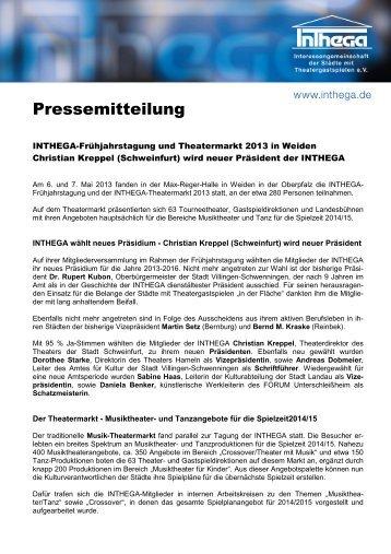 Pressemitteilung - Inthega