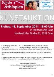 Kunstauktion2011- Katalog.pdf - Menschen für Menschen