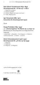 apollon musagète quartett - Meister & Kammerkonzerte - Seite 2