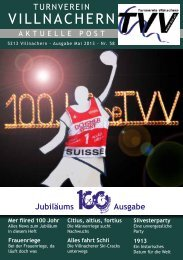 Download als PDF Dokument - Turnverein Villnachern