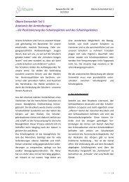 Obere Extremität Teil 1 Anatomie der Armhaltungen - die ...