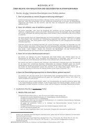 Rechte von Verletzten und Geschädigten im Strafverfahren