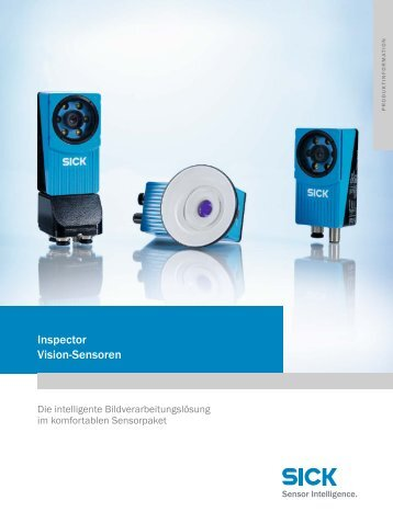 Inspector Vision-Sensoren - Mysick.com
