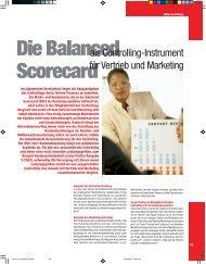 als Controlling-Instrument für Vertrieb und Marketing - Profiler24