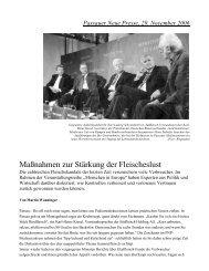 Maßnahmen zur Stärkung der Fleischeslust - Herrmannsdorfer ...