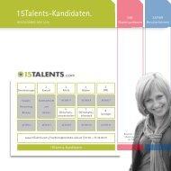 15Talents-Kandidaten. - Saphir Deutschland GmbH