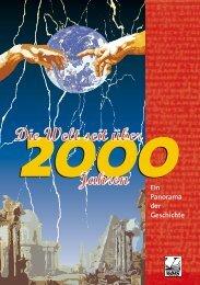Die Welt seit 2000 Jahren - Jochen Klein