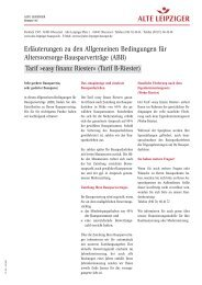 Tarif »easy finanz Riester - wohn-riester-vergleich.de