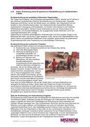 2.23 Indien: Rehabilitierung von Straßenkindern - Misereor