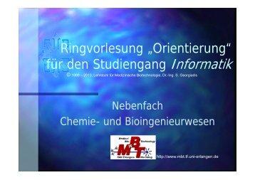 Folien der Orientierungsvorlesung - Informatik - Friedrich-Alexander ...