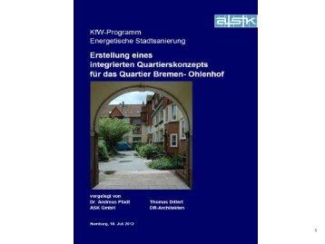 Energetische Stadtsanierung Bremen - Ohlenhof (pdf, 2.3 MB)