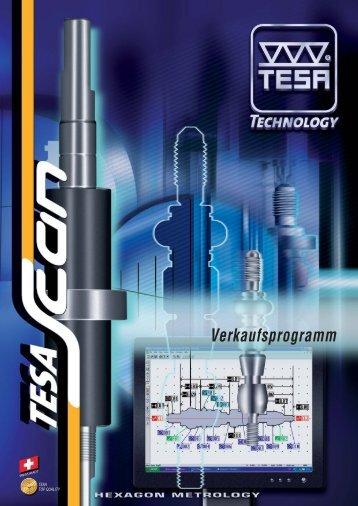 Produktbroschüre TESA-Scan