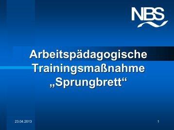 Sprungbrett - NBS Greifswald