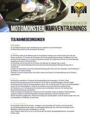 Teilnahmebedingungen - Motomonster.de
