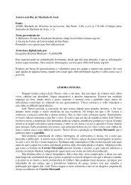 Aurora sem Dia, de Machado de Assis Fonte: ASSIS, Machado de ...