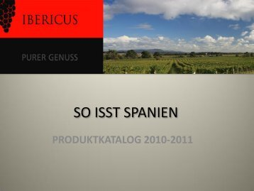 Produktkatalog - Ibericus