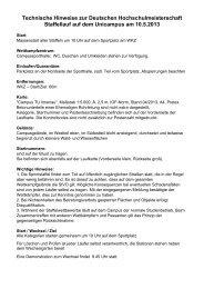 Technische Hinweise zur Deutschen ... - TU Ilmenau