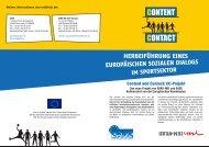 content contact - EASE : European association of sport employers