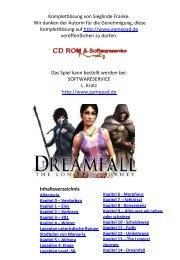 Dreamfall - deutsche Komplettlösung mit Plänen - Gamepad.de