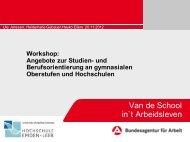 WS 3 Angebote zur Studien- u. Berufsorientierung - Ostfriesische ...