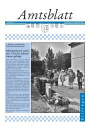 1. Friedhofstag in Ettlingen - Förderverein Hospiz Ettlingen eV