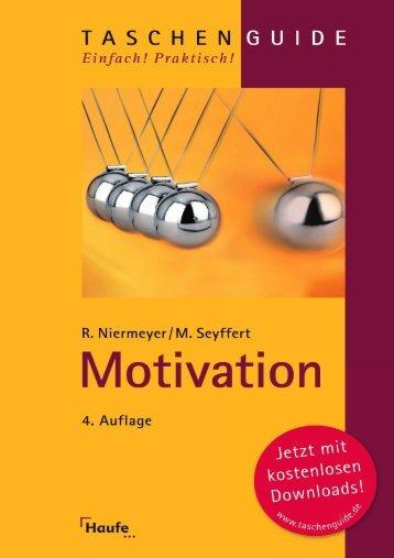 Leseprobe zum Titel: Motivation - Die Onleihe
