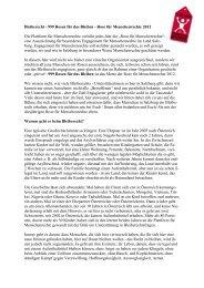 Laudatio - Plattform für Menschenrechte Salzburg