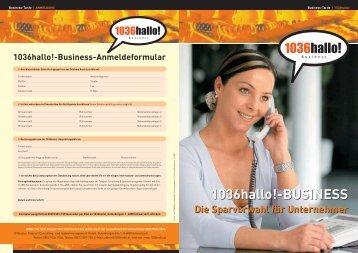 1036hallo!-BUSINESS 1036hallo!-BUSINESS